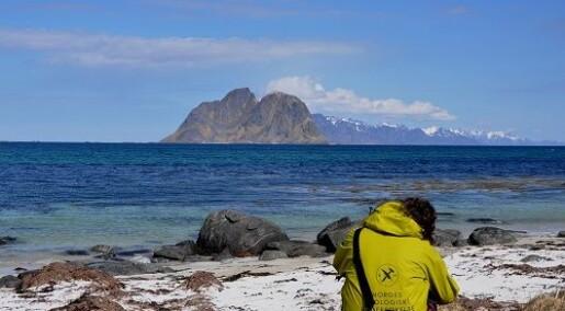 Lofotens vakre strender har sammenheng med lite olje og gass i havet utenfor