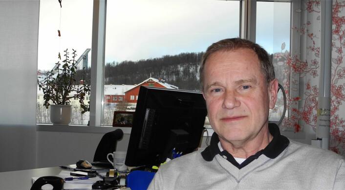 Professor Jan Bergdahl har forsket på stress. (Foto: Elisabeth Øvreberg)