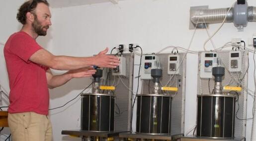 Bønder kan lage biogass av møkk fra fisk og husdyr
