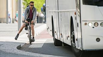 Så mye kjefting er det i Oslo-trafikken
