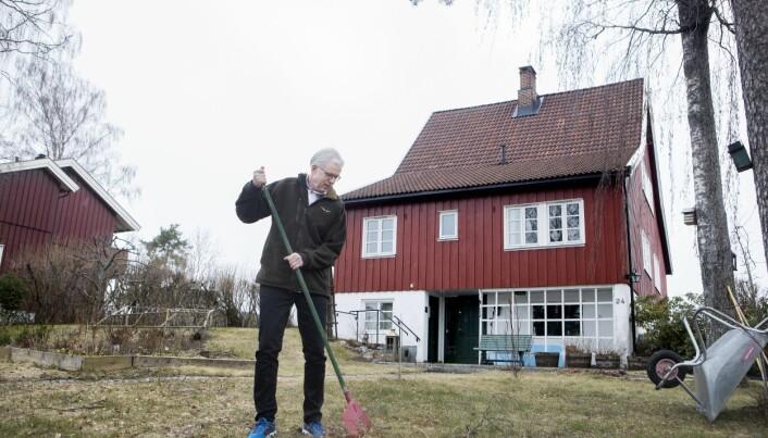 Jan Kjærup Bjørneboe kjente de første tegnene på Parkinsons sykdom for ti år siden. (Foto: Anne Elisabeth Næss)