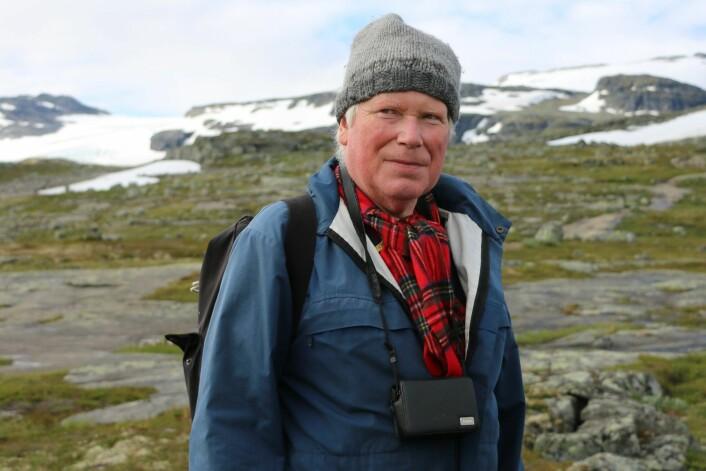 Soppekspert Klaus Høiland. (Foto: Elina Melteig, UiO)