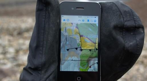 Geologiske kart i lommeformat