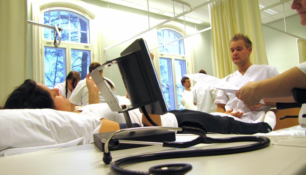 Ved Sykehuset Levanger ble det gjort forbedringer som førte til at dødeligheten ved blodforgiftning gikk ned med 40 prosent. (Foto: Bjørnar Olav Leknes)