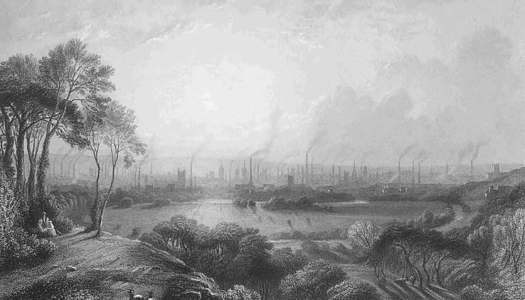 En ny studie fastslår at selv små stigninger i atmosfærisk CO2 ved starten av industrialiseringen hadde en målbar effekt på Jordens klima. (Bilde: Edward Goodall/Wikimedia commons/Public Domain-Merket 1.0)