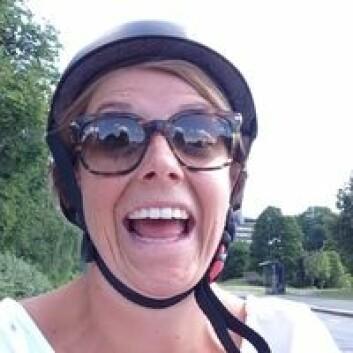 Samspillet i Oslo-trafikken fungerer bra, konstaterer Mari Andrine Hjorteset. (Foto: TØI)