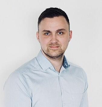 Asbjørn Fagerlund er forsker ved Nasjonalt senter for e-helseforskning, og har undersøkt fastlegers bruk av digitale tjenester via portalen Helsenorge.no. (Foto: Nasjonalt senter for e-helseforskning).