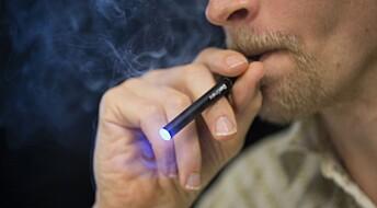 Væske brukt i e-sigaretter kan skade hjerteceller