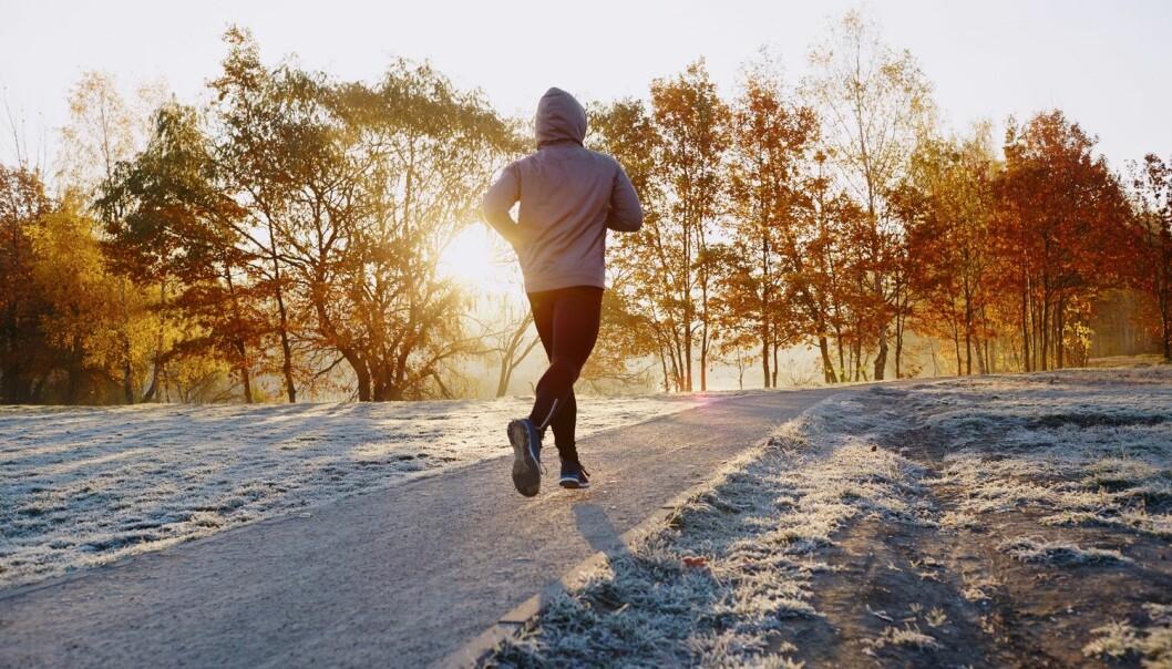 Når du trener, skiller kroppen ut mange gode hormoner, blant annet adrenalin, som vekker deg og gjør deg mer klar for dagen. (Illustrasjonsfoto:  baranq / Shutterstock / NTB scanpix)
