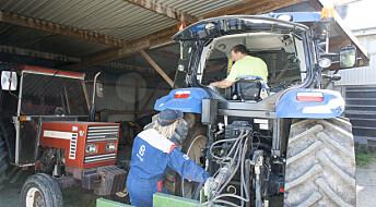 Traktoren er bondens farligste verktøy