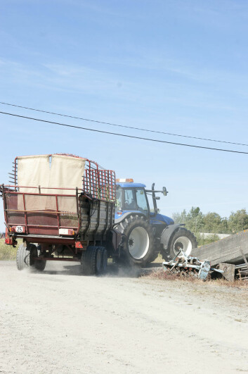 Traktoren er ofte innblandet i arbeidsulykker på gården. (Foto: Odd Roger Langørgen)
