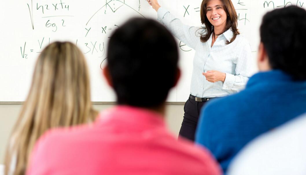 Forelesninger er enkelt og behagelig for læreren og kostnadseffektivt for institusjonen. For studentene er det ikke en spesielt effektiv måte å lære på, mener BI-forsker Njål Foldnes. (Foto: Andresr, Shutterstock, NTB scanpix)