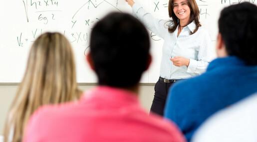 Byttet ut forelesninger med video og veiledning