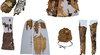 Her er klærne til ismannen Ötzi
