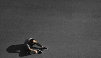 Hvorfor føles beina som  betong etter intervalltrening? Før har det vært vanlig å skylde på melkesyre, men det er trolig feil.  (Illustrasjonsfoto: avemario / Shutterstock / NTB scanpix)
