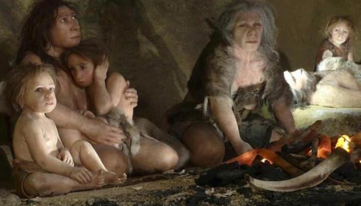 Nåværende forskning tyder på at neandertalerne døde ut over en lengre periode, fra 4000 til 10 000 år. (Foto: Reuters)