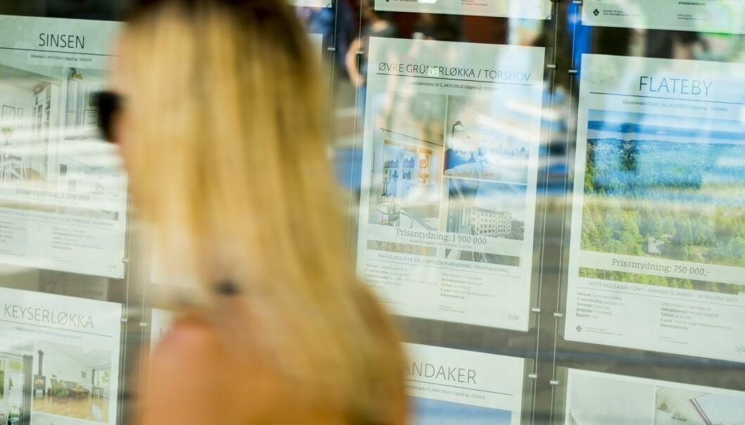 Forsker mener prisveksten i boligmarkedet kan tilskrives utvikling i inntekt, renter og boligmarkedet.  (Illustrasjonsfoto: Vegard Wivestad Grøtt / NTB scanpix)