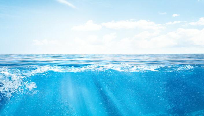 Hvor mye plast flyter fritt rundt i selve vannmassene i havet?