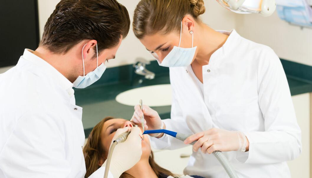 Norske tannleger kjennetegnes av at de utfører arbeid av høy kvalitet, ifølge doktorgradsprosjektet ved UiO. (Illustrasjonsfoto: Colourbox)