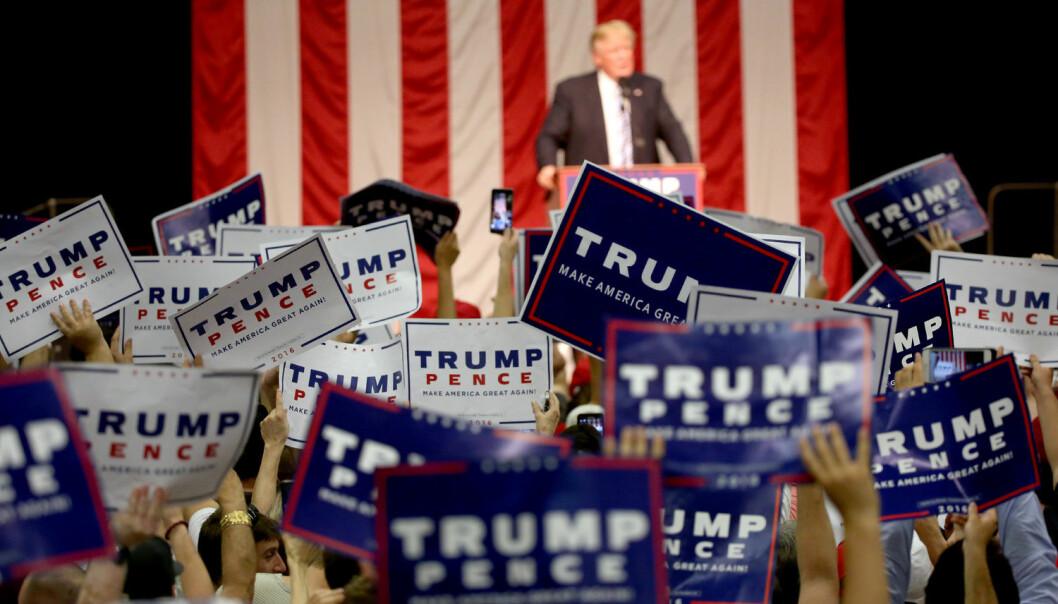 - At Donald Trump går fra seier til seier, er en konsekvens av 25 år med nyliberal retorikk, sier professor i statsvitenskap Torbjørn L. Knutsen. (Foto: Michelle McLoughlin, Reuters, NTB scanpix)