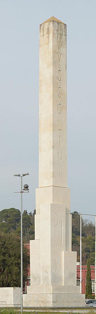 Under tonnevis med marmor ligg det eit skrin med nokre medaljar og ein tekst skriven på pergament. Forskarane trur dette var tenkt som ein slags tidskapsel. (Foto: Livioandronico2013 / Wikimedia commons CC BY-SA 4.0)