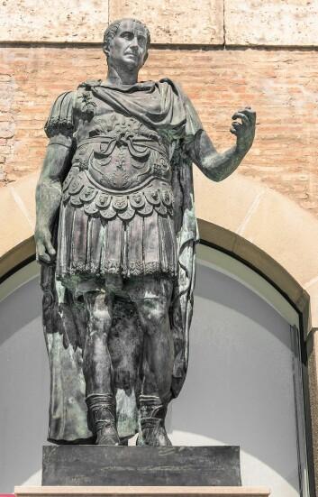 Hva skjedde da Julius Cæsar ble drept? Jo, da ble Romerriket kastet ut i borgerkrig. (Foto: Colourbox)