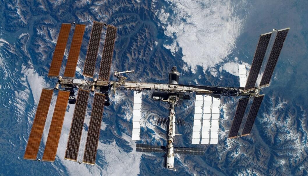 Den internasjonale romstasjonen (ISS) kan snart bli mål for private feriereiser, håper NASA. (Foto NASA / AP / NTB scanpix)