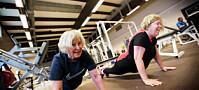 Trygt å trene hardt med demens