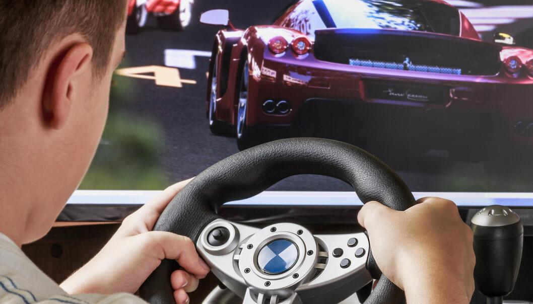 Dataspill er ikke bare meningsløs avkobling. Ifølge ny studie kan fartsfylte dataspill ha positiv effekt på motorikken til spillerne.  (Foto: OlegDoroshin, Shutterstock, NTB scanpix)
