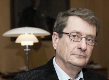 – Det som bekymrer meg mest, er at kvaliteten på vitenskapen undergraves, advarer professor Geir Ellingsrud. (Foto: Ståle Skogstad)