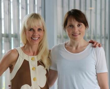 Forskerne Trine Moholdt og Kirsti Krohn Garnæs. (Foto: Kari Williamson NTNU)