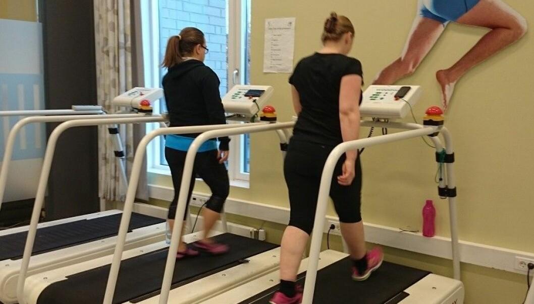 Det ser ut til at bare litt trening skal til for å redusere risikoen ved fedmesvangerskap. (Foto: Kirsti Krohn Garnæs, NTNU)
