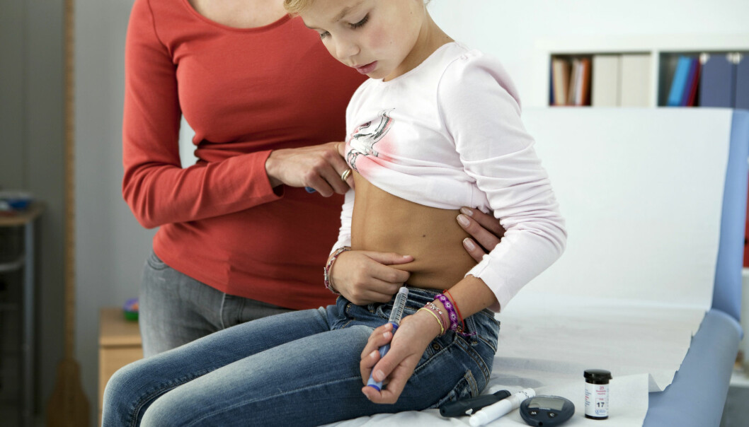 Etter at barn fikk vaksine mot omgangssyke har færre amerikanske barn fått diabetes 1, viser forskning. I USA ble rotavirus-vaksinen et tilbud åtte år før den ble innført i Norge. (Foto: Shutterstock)
