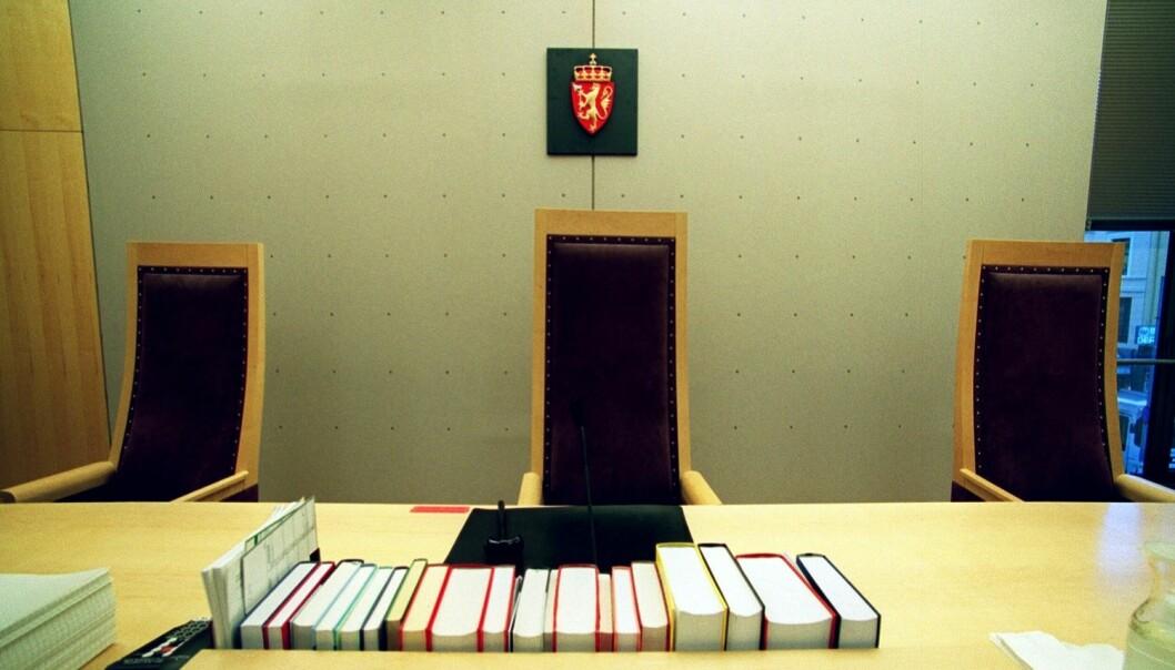 I norske rettssaler dømmer også helt vanlige folk. De frifinner tiltalte litt oftere enn det fagdommere gjør. (Foto: Jarl Fr. Erichsen/NTB scanpix)