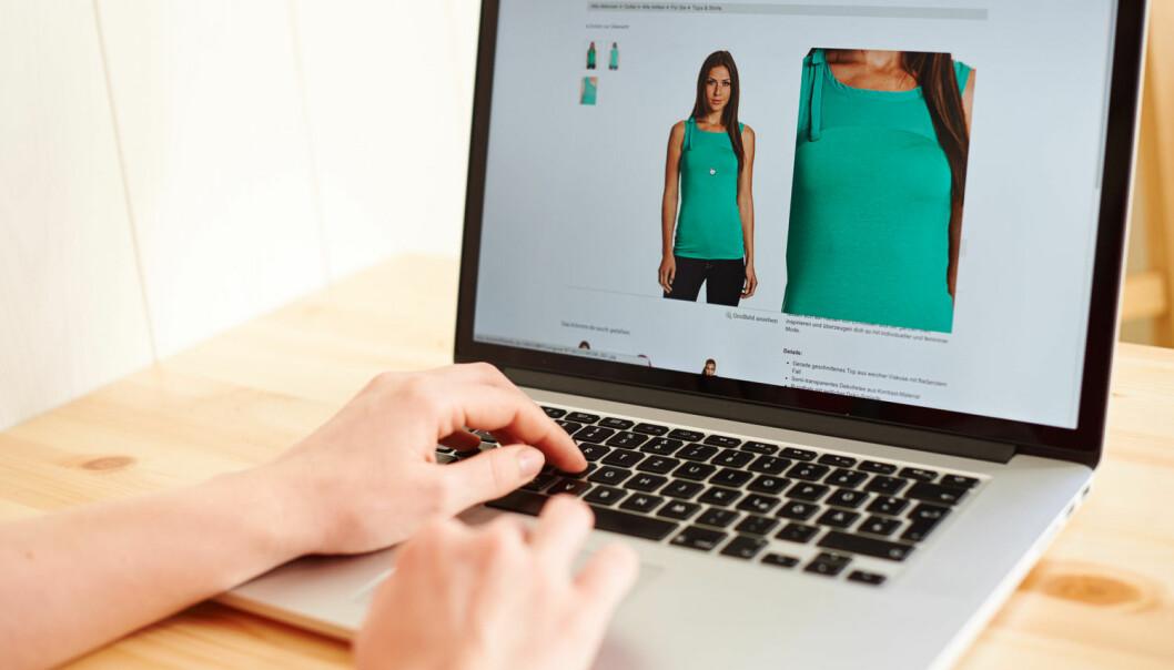 De som bare handler klær på nett, har en tendens til å kjøpe mer enn andre. Spesielt av klær og andre produktgrupper som er litt smalere enn de mest trendy klærne.  (Foto: Robert Schlesinger, NTB scanpix)