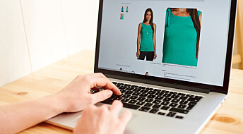 Kjøper mer klær på nettbutikker
