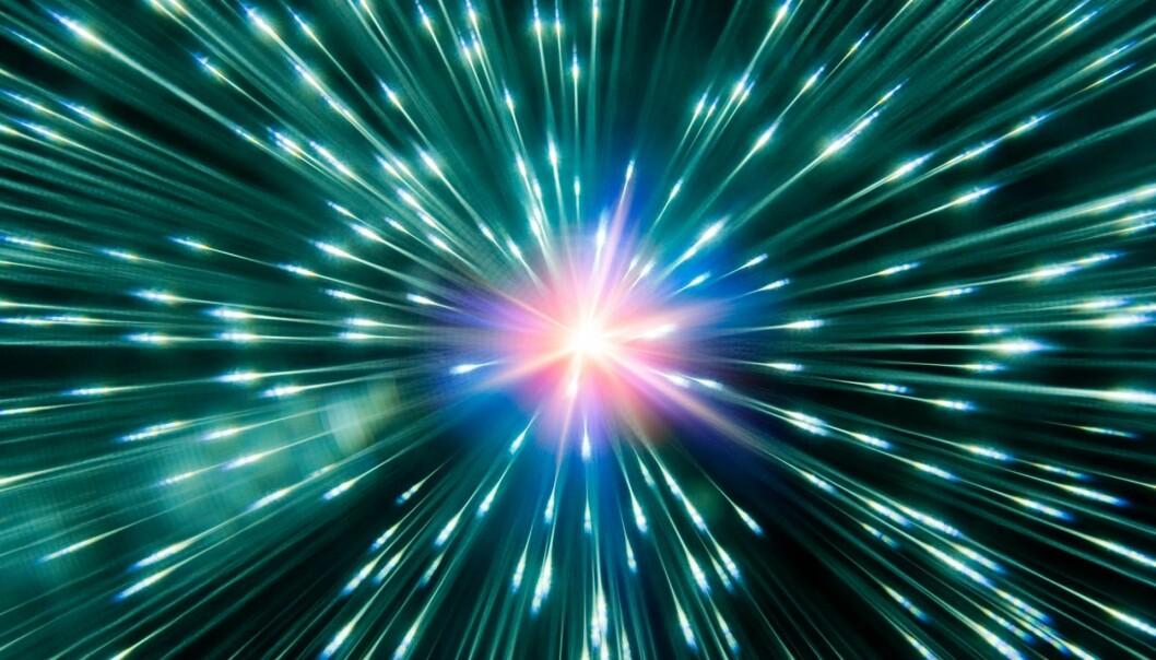 Hendelser ute i verdensrommet kan ha påvirket våre forfedres egenskaper. (Foto: Richard Kail / Getty Images)