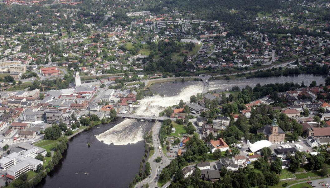 Kommunen teller i dag 27 000 innbyggere og har ambisjon om å bli 40 000 innen 2030. Telemarksforsking har utviklet en modell som kan hjelpe dem på veien. (Foto: Terje Bendiksby, NTB scanpix)