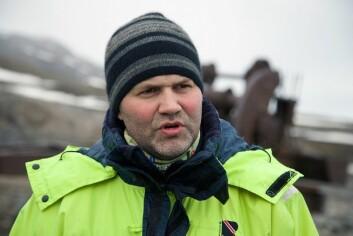 Arild Olsen er leder i Longyearbyen lokalstyre. Arild Olsen er leder i Longyearbyen lokalstyre. (Foto: Karine Nigar Aarskog)