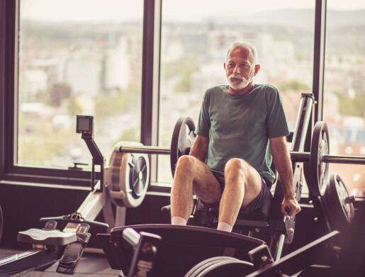 Derfor bør eldre trene styrke!