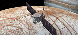 NASA vil lande på Jupiters måne Europa