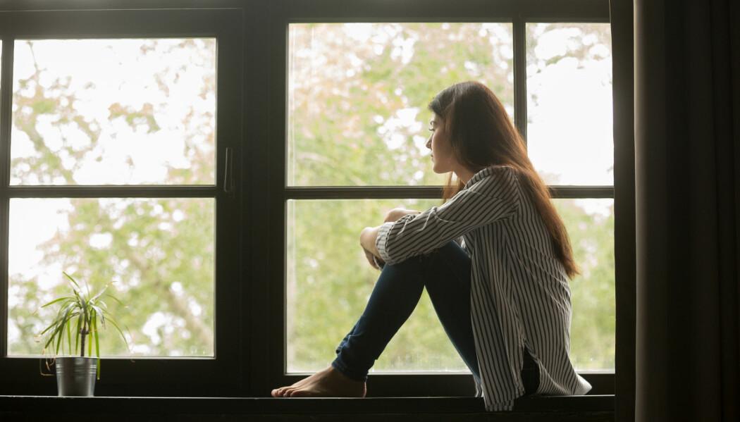 Den svenske studien tyder på at de som utvikler anoreksi seinere i tenårene, klarer seg bedre enn dem som får sykdommen som svært unge. (Illustrasjonsfoto: Shutterstock/NTB scanpix)