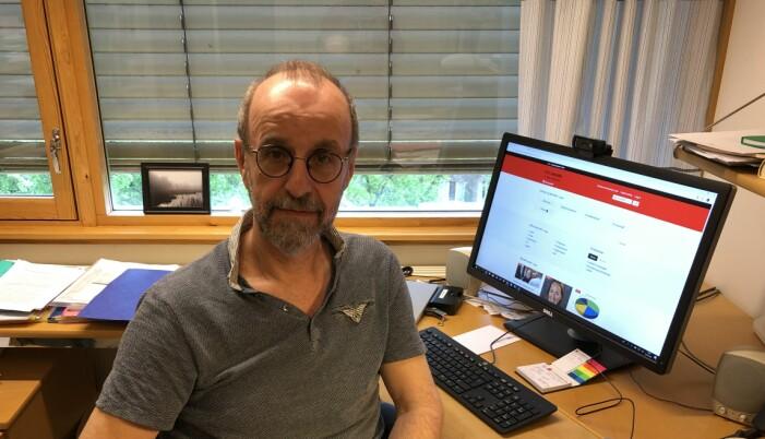 Professor i pedagogikk ved Universitetet i Oslo, Helge Strømsø, tror det vil være nyttig om kritisk kildevurdering blir en mer integrert del av undervisningen i skolen. (Foto: Ulf Grefsgård).