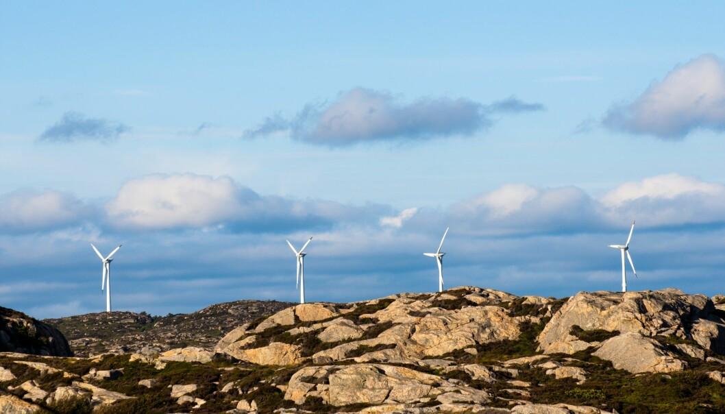 – Norge og Skottland startet likt ved årtusenskiftet. 14 år senere hadde Skottland bygget ut fem ganger så mye vindkraft som Norge, sier Janne Thygesen. (Illustrasjonsfoto: Colourbox)