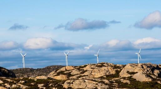 Knust av Skottland på vindkraft