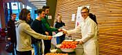 Kantinegjester foretrakk norske tomater framfor importerte