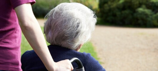 En av tre sykehjemsbeboere med demens hadde symptomer på angst
