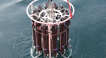 Mest naturlig bly i vannprøver i Antarktis