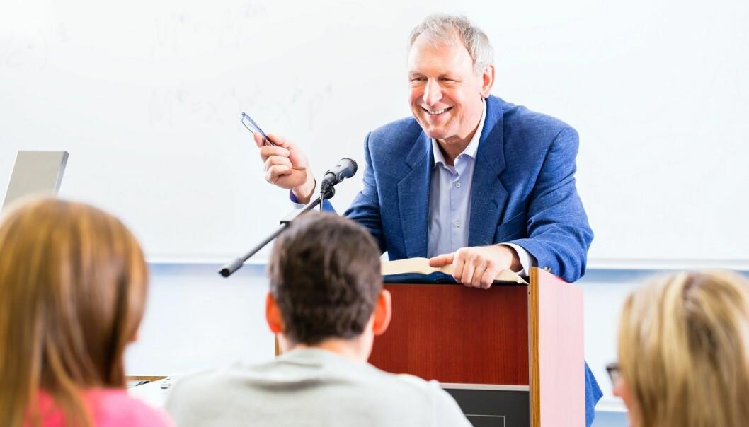 I planleggingen av undervisningen må den som skal undervise også tenke på hvordan ulike undervisningsmåter fremmer ulike typer læring i en sammensatt studentgruppe, mener forskere. (Illustrasjonsfoto: Colourbox)