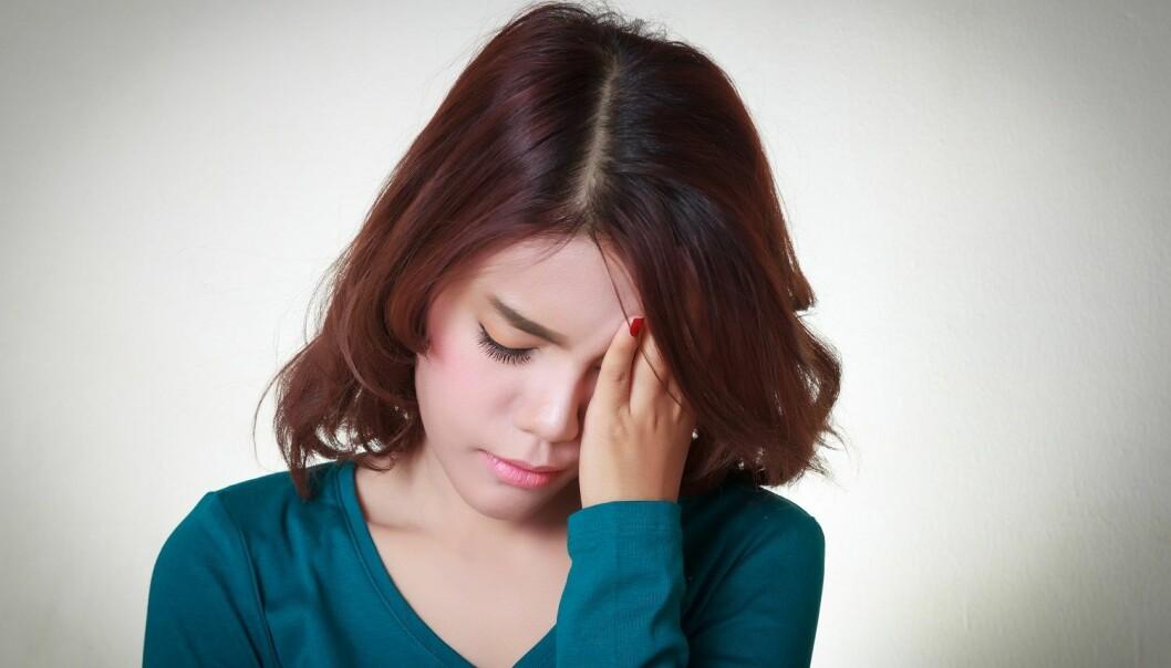 Forskerne finner ingen sammenheng mellom blodårefunksjon og ulike typer migrene og hodepine. (Illustrasjonsfoto: Colourbox)